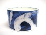 cobalt  porcelain dish
