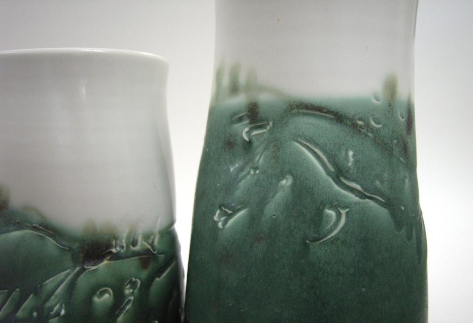 landscape jars