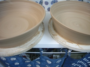 big stoneware dishes